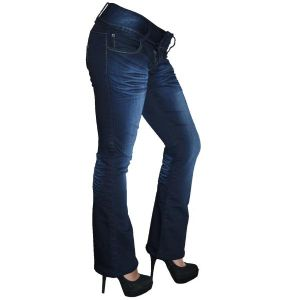 Rosie Bootcut Jeans | UK Size 8/10 | Petite Leg Inseam 27.5 inches | With Free Belt